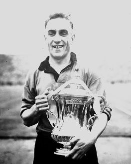 FA Cup Final Victory, Wolves vs Leicester City, Billy Wright