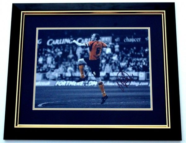 Limited Edition 20x16 framed and mounted print hand signed by Jody Craddock