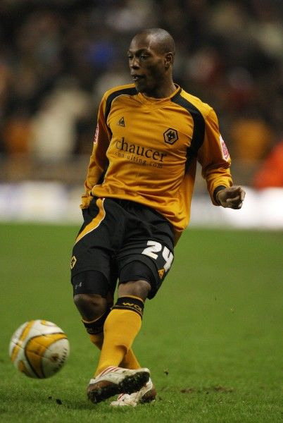 Wolves' Kyel Reid during their 3.3 draw against Norwich City during the Coca-Cola Championship match at Molineux