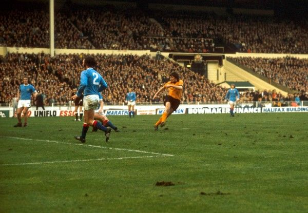John Richards Wolverhampton Wanderers Scores their 2nd Goal