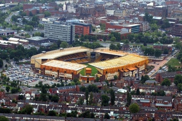 Molineux stadium, home to Wolves