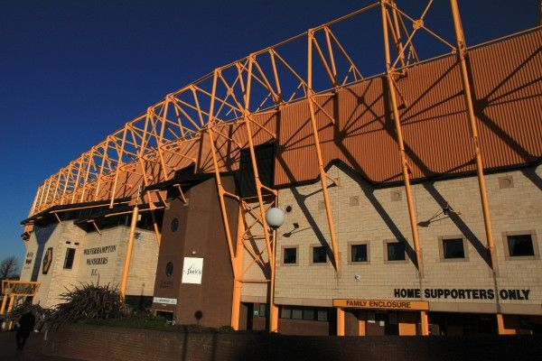 General view of Molineux from outside the stadium
