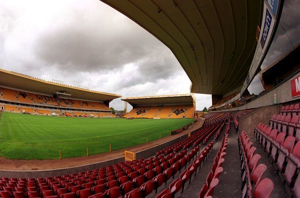 Molineux Stadium, the home of Wolves
