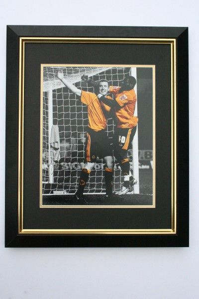 Limited Edition 20x16 framed and mounted print hand signed by Neil Collins