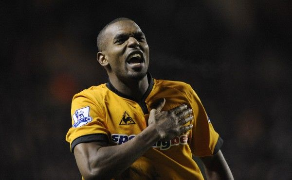 Ronald Zubar of Wolverhampton Wanderers celebrates at full time