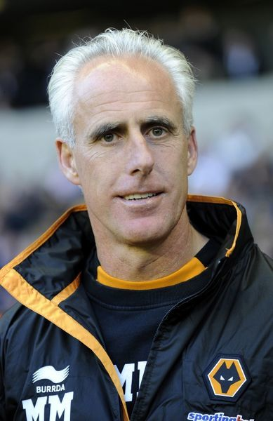 Mick McCarthy the manager / head coach of Wolverhampton Wanderers
