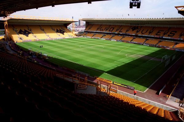 General view of Molineux, home of Wolverhampton Wanderers