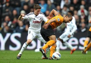 Barclays Premier League - Swansea City v Wolverhampton Wanderers - Liberty Stadium