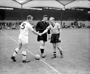 Billy Wright's Final appearance in a Wolves shirt