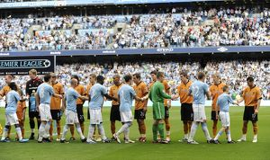 BPL, Manchester City Vs Wolves, City of Manchester stadium, 22/8/09