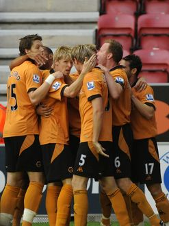 BPL, Wigan Athletic Vs Wolves, The DW Stadium, 18/8/09