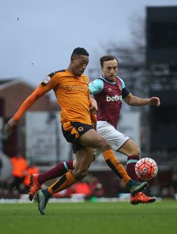 <b>Emirates FA Cup - West Ham United v Wolves - Third Round - Upton Park</b><br>Selection of 5 items