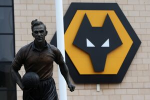Molineux Stadium - Billy Wright Stand and Crest