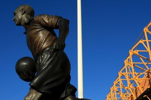 Molineux Stadium - Billy Wright Statue