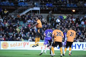 Perth Glory Vs Wolves, 10-7-09