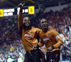 Play Off Semi Final 2nd leg, Wolves vs Reading, Lescott & Ince