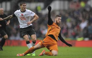 Sky Bet Championship - Derby County v Wolverhampton Wanderers - iPro Stadium