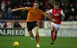 Sky Bet Championship - Rotherham United v Wolves - AESSEAL New York Stadium