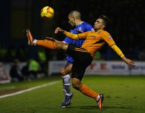 <b>Sky Bet League One : Gillingham v Wolverhampton Wanderers : MEMS Priestfield Stadium</b><br>Selection of 2 items