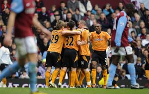 <b>Aston Villa v Wolves</b><br>Selection of 12 items
