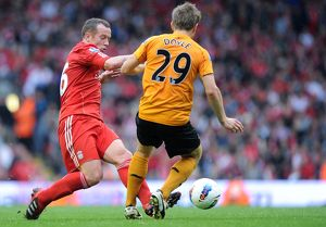players/current players kevin doyle/soccer barclays premier league liverpool v