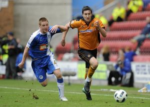Soccer - Barclays Premier League - Wigan Athletic v Wolverhampton Wanderers
