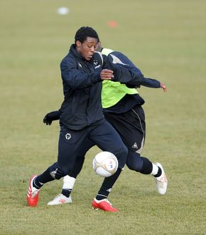 SOCCER - Barclays Premier League - Wolverhampton Wanderers Training