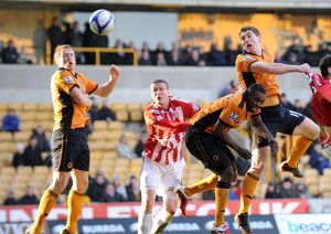 Soccer - FA Cup Round Four - Wolverhampton Wanderers v Stoke City