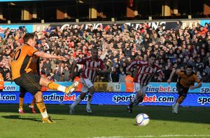 Soccer -FA CUP Round Four - Wolverhampton Wanderers v Stoke