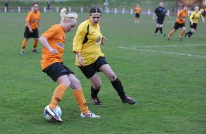 SOCCER - Midland Womens Combination - Leafield Athlectic Ladies v Wolves Women