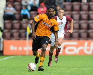 Soccer - Pre-season friendly - Heart of Midlothian v Wolverhampton Wanderers