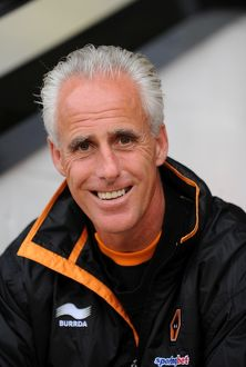 players/past players mick mccarthy/soccer pre season friendly walsall v wolverhampton