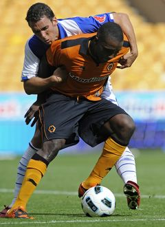 players/current players sylvan ebanks blake/soccer pre season friendly wolverhampton wanderers