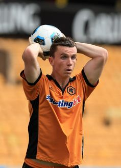 players/current players kevin foley/soccer pre season friendly wolverhampton wanderers