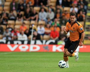 players/current players matt jarvis/soccer pre season friendly wolverhampton wanderers