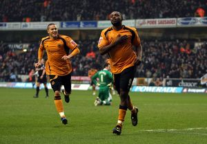 Sylvan Ebanks-Blake, Wolves vs Preston North End, 10/1/09